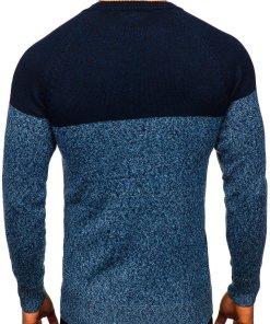 Pulover barbati albastru Bolf H1809