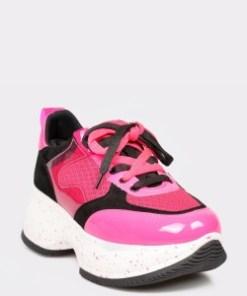 Pantofi sport GRYXX fucsia, Mo1041, din piele ecologica