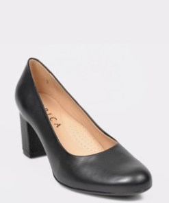 Pantofi EPICA negri, 9829553, din piele naturala