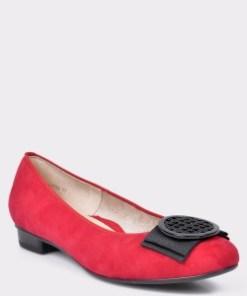 Pantofi ARA rosii, 43720, din piele naturala