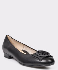Pantofi ARA negri, 43720, din piele naturala