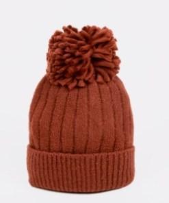 Caciula ALDO maro, Kaardonna221, din material textil