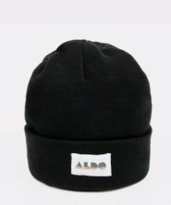 Caciula ALDO neagra, Etadossa001, din material textil