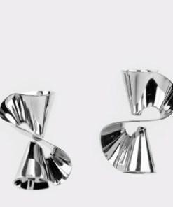 Cercei EPICA argintii, HKE5073, din metal