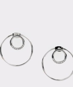 Cercei EPICA argintii, HKE5092, din metal