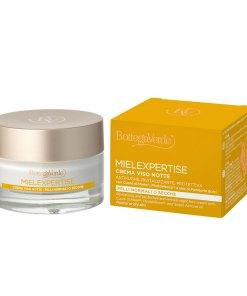Crema antirid si antioxidanta, de noapte, cu miere si Pluridefence 160059
