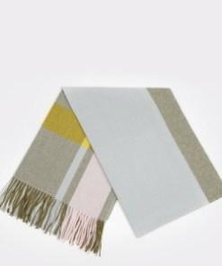 Esarfa KLOP gri, J640, din material textil