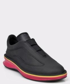 Pantofi CAMPER negri, K200741, din piele naturala
