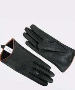 Manusi ALDO negre, Githrania001, din piele ecologica