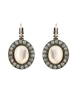 Cercei Silk placati cu argint 925 - 1130-1049SP6