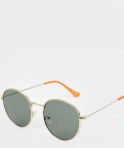Ochelari de soare ALDO aurii, Cuniver710, din PVC