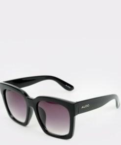 Ochelari de soare ALDO negri, Zumba001, din PVC