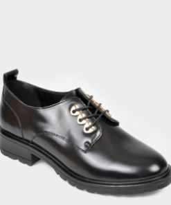 Pantofi ALDO negri, Miraoma, din piele naturala