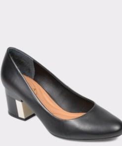 Pantofi EPICA negri, 9912561, din piele naturala