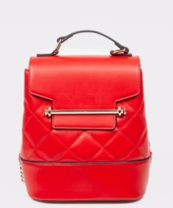 Rucsac CALL IT SPRING rosu, BABY620, din piele ecologica