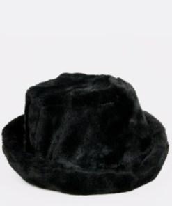 Palarie ALDO neagra, Gweridia001, din material textil