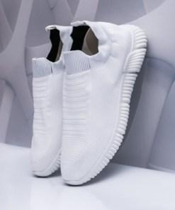 Pantofi sport barbati albi Lukomy-rl