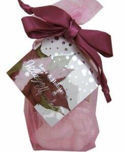 Set cadou, Organza Vintage (gel de dus 65 ml, lotiune de corp 65 ml, bila efervescenta de baie decorativa a 50 g)