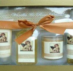 Set cadou SPA Classic Angel (gel de dus 240 ml, lotiune de corp 180 ml, spray de corp 140 ml, sare de baie 300 g)