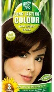 Vopsea par, Long Lasting Colour, Dark Cooper Brown 3.44, 100 ml