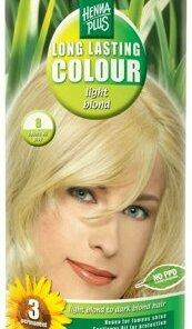 Vopsea par, Long Lasting Colour, Light Blond 8, 100 ml