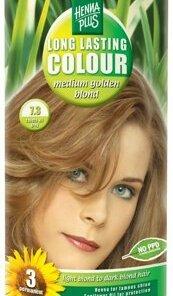 Vopsea par, Long Lasting Colour, Medium Golden Blond 7.3, 100 ml