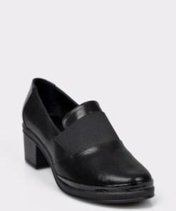 Pantofi FLAVIA PASSINI negri, 756890, din piele naturala