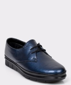 Pantofi FLAVIA PASSINI bleumarin, 19511, din piele naturala