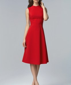 Rochie midi - Nife Woman's Dress S62 1033181