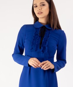 Rochie office royal blue 36