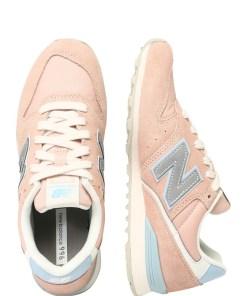 New Balance Sneaker low 'WL996A' albastru deschis / roz vechi