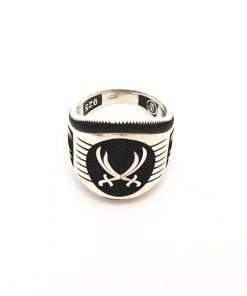 Inel pentru barbati din argint Ticket