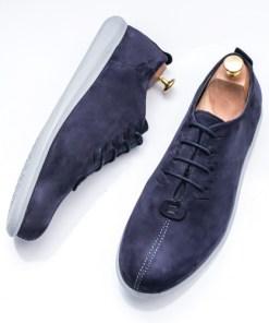 Pantofi barbati Piele albastri Adevali-rl