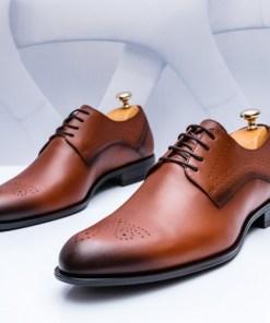 Pantofi barbati Piele maro Lipsani-rl