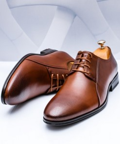Pantofi Piele eleganti maro Satiosi-rl