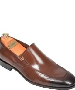 Pantofi LE COLONEL maro, 48710, din piele naturala