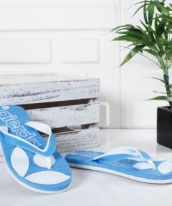 Papuci Muhili albastri