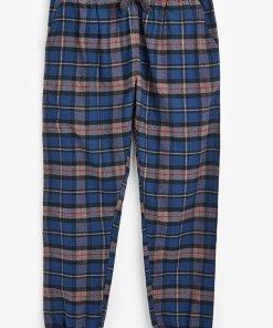 Pantaloni de pijama cu imprimeu in carouri