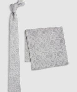 Set de cravata din matase si batista