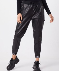 True Religion Pantaloni eleganți negru