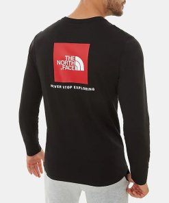 The North Face Longsleeve Red Box Tee T9493LJK3
