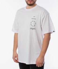Vans Distortion Type T-shirt VA49PVWHT