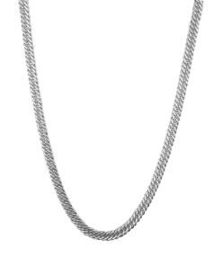 Lant barbati din argint rodiat, lungime 55 cm