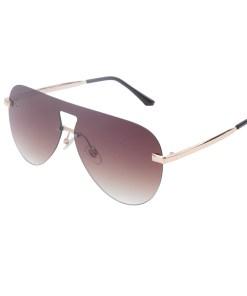 Ochelari de soare maro, pentru dama, Daniel Klein Trendy, DK4294P-2