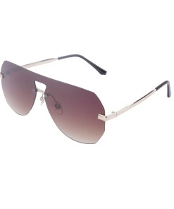 Ochelari de soare maro, pentru dama, Daniel Klein Trendy, DK4308P-2