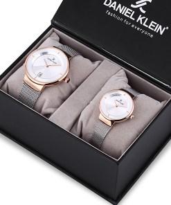 Set ceasuri pentru dama si barbati, Daniel Klein Pair, DK12241-3