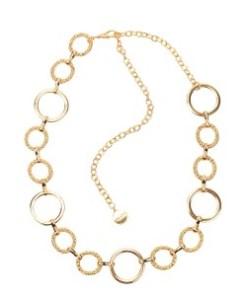 Colier ALDO auriu, Ashmere710, din metal