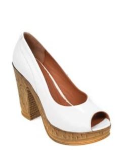 Pantofi FLAVIA PASSINI albi, 2602, din piele naturala