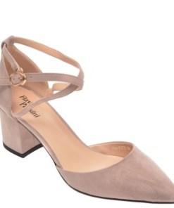 Pantofi FLAVIA PASSINI gri, D580AK1, din piele ecologica