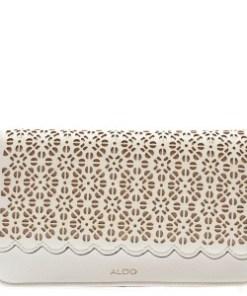 Portofel ALDO alb, Schoolsout100, din piele ecologica